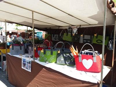 Naše tašky v Říčaneh